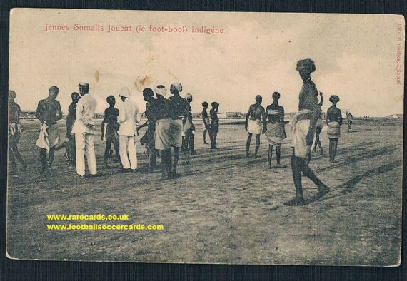 1900s French Somalia Djibouti football pc